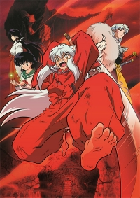 Anime: InuYasha: The Movie 4 - Fire on the Mystic Island