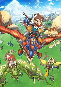 Anime: Monster Hunter Stories: Ride On