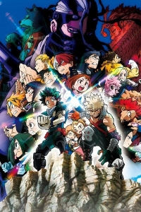 Anime: Boku no Hero Academia the Movie: Heroes:Rising