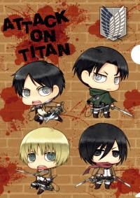 Anime: Attack on Titan: Chibi Theatre: Fly,​ Cadets,​ Fly!