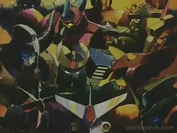 Mobile fighter g gundam anime 1994 tv series for Domon television