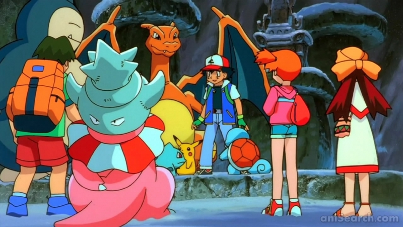 Pokemon The Movie 2000 The Power Of One Anime Anisearch