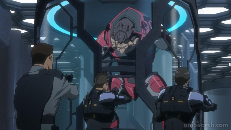 Mass Effect Paragon Lost Anime Anisearch