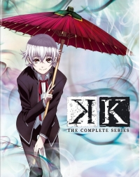 K - Complete Series: Limited Edition [Blu-ray+DVD]