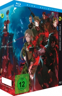 Sword Art Online 2 - Vol. 1/4: Limited Edition [Blu-ray] + Sammelschuber + OST