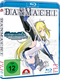 DanMachi: Is It Wrong to Try to Pick Up Girls in a Dungeon? - Familia Myth: Vol.2/4 [Blu-ray]