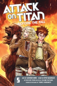 Attack on Titan: Before the Fall - Vol.05: Kindle Edition