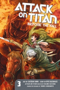 Attack on Titan: Before the Fall - Vol.03: Kindle Edition
