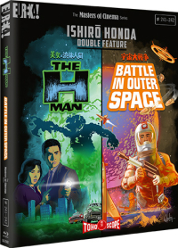 The H-Man / Battle in Outer Space - Limited Edition [Blu-ray]