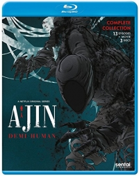 Ajin: Demi-Human - Season 1 - Complete Series + Movie 1 [Blu-ray]