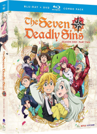 The Seven Deadly Sins: First Season - Part 2/2 [Blu-ray+DVD]