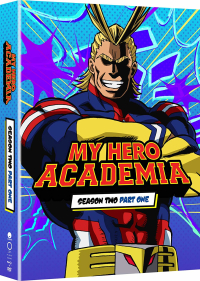 My Hero Academia: Season 2 - Part 1/2: Limited Edition [Blu-ray+DVD]