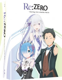 Re:Zero - Starting Life in Another World: Season 1 - Part 1/2: Limited Edition [Blu-ray+DVD]