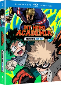 My Hero Academia: Season 2 - Part 2/2 [Blu-ray+DVD]