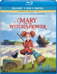 Mary and The Witch's Flower [Blu-ray+DVD+Digital]
