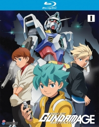 Mobile Suit Gundam AGE - Vol.01 [Blu-ray]