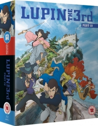 Lupin the 3rd: Part IV - Complete Series: Collector's Edition (OwS) [Blu-ray]