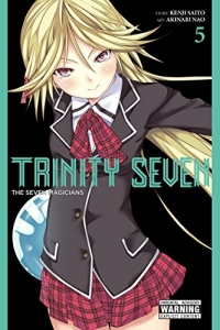 Trinity Seven: The Seven Magicians - Vol.05: Kindle Edition