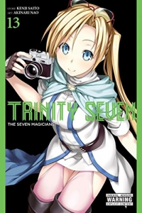 Trinity Seven: The Seven Magicians - Vol.13: Kindle Edition