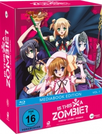 Is This A Zombie? - Vol.1/3: Limited Mediabook Edition [Blu-ray] + Sammelschuber