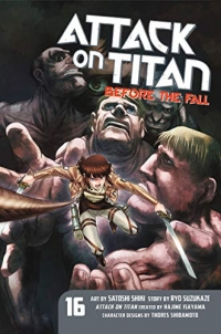 Attack on Titan: Before the Fall - Vol.16