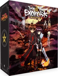 Twin Star Exorcists - Part 1/4: Limited Edition [Blu-ray] + Artbox