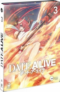 Date a Live - Vol. 3/3: Limited Steelcase Edition [Blu-ray]