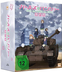 Girls und Panzer - Das Finale: Teil 1 - Limited Edition [Blu-ray] + Sammelschuber