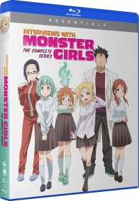 Interviews with Monster Girls - Complete Series: Essentials [Blu-ray]