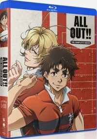 All Out!! - Complete Series [Blu-ray]