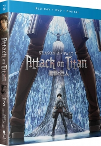 Attack on Titan: Season 3 - Part 1/2 [Blu-ray+DVD]