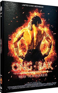 Ong-Bak - Limited Mediabook Edition [Blu-ray+DVD]: Cover A