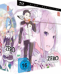 Re:Zero - Starting Life in Another World - Vol.1/5: Limited Edition [Blu-ray] + Sammelschuber