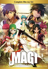 Magi: The Labyrinth of Magic [Blu-ray]