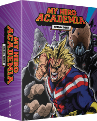 My Hero Academia: Season 3 - Part 1/2: Limited Edition [Blu-ray+DVD]