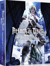 Attack on Titan: Season 1 - Part 2/2: Limited Edition [Blu-ray+DVD]