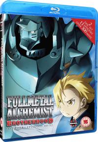 Fullmetal Alchemist: Brotherhood - Part 4/5 [Blu-ray]
