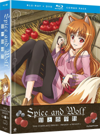 Spice and Wolf: Season 1+2 - Complete Series [Blu-ray+DVD]