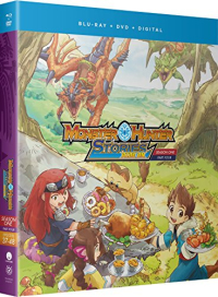 Monster Hunter Stories: Ride On - Season 1: Part 4 [Blu-ray+DVD]