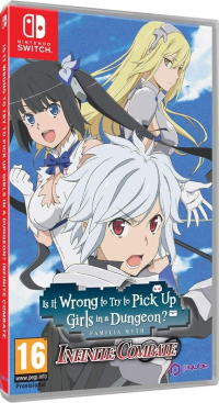 Is it Wrong to Try to Pick up Girls in a Dungeon? Infinite Combate [Switch]
