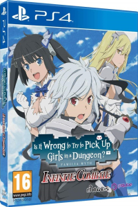 Is it Wrong to Try to Pick up Girls in a Dungeon? Infinite Combate [PS4]