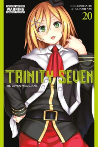Trinity Seven: The Seven Magicians - Vol.20