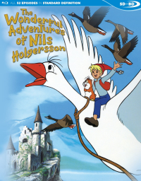 The Wonderful Adventures of Nils Holgersson - Complete Series (OwS) [SD on Blu-ray]