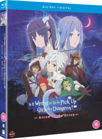 Is it Wrong to Try to Pick up Girls in a Dungeon?: Arrow of the Orion [Blu-ray]