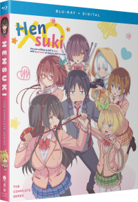 Hensuki: Are You Willing to Fall in Love With a Pervert as Long as She's a Cutie? - Complete Series [Blu-ray]