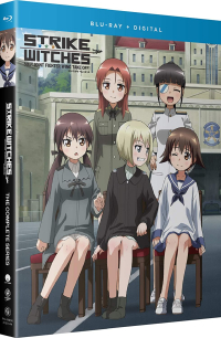 Strike Witches: 501st Joint Fighter Wing Take Off! + Movie [Blu-ray]