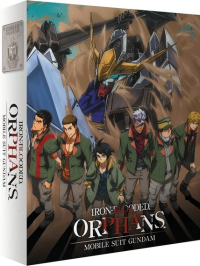 Mobile Suit Gundam: Iron-Blooded Orphans - Season 1: Collector's Edition [Blu-ray] + Artbox