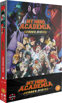 My Hero Academia: Heroes Rising - Steelbook [Blu-ray+DVD]