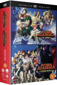 My Hero Academia: Two Heroes + Heroes Rising