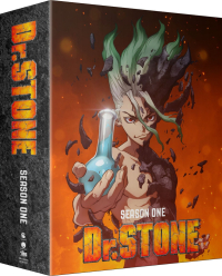 Dr. Stone: Season 1 - Part 2/2: Limited Edition [Blu-ray+DVD] + Artbook + Artbox